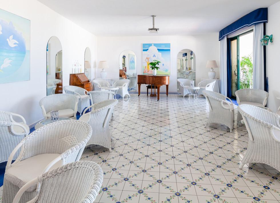 Bar sala interna Hotel Paradiso Terme Re