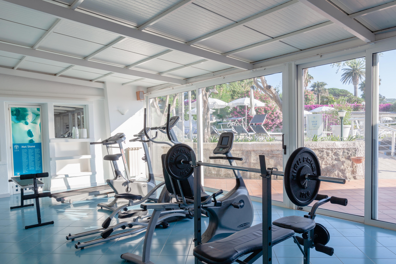 SPORT: kleine Fitnessraum