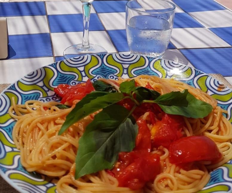 Spaghetti al pomodorino del 'Piennolo'