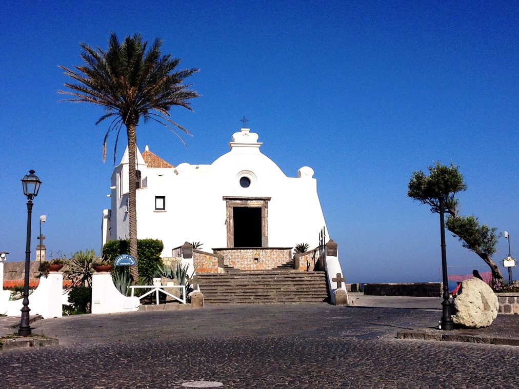 Forio: die Soccorso Kirche