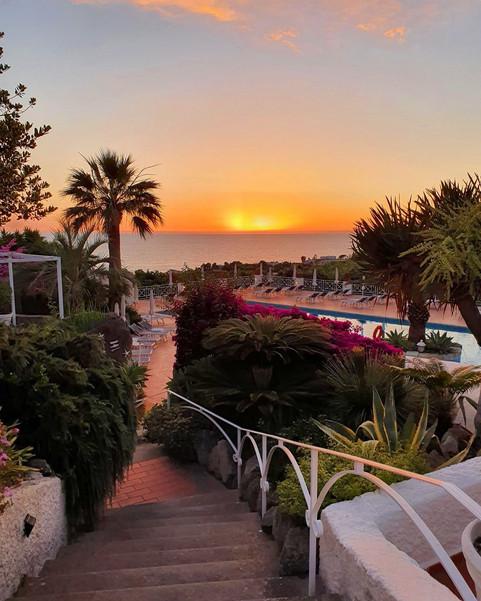 Le scale del Paradiso... Hotel Paradiso