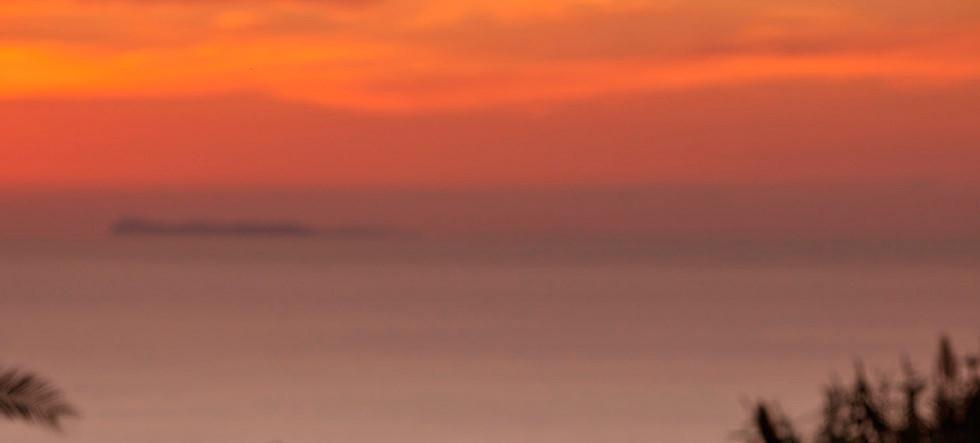 Il tramonto visto dal Paradiso Terme Res