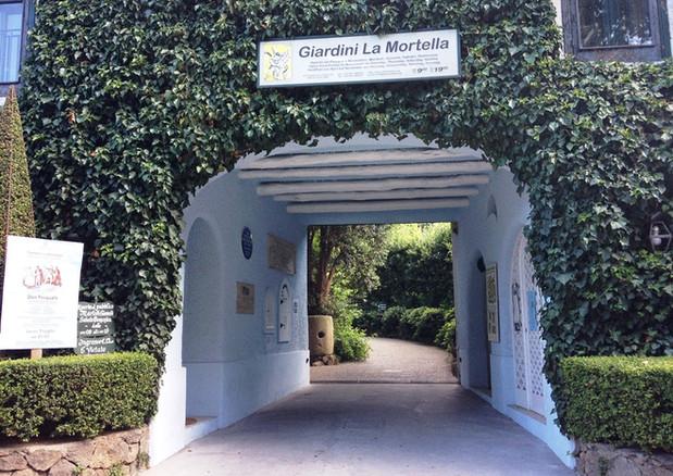 Forio : Villa La Mortella