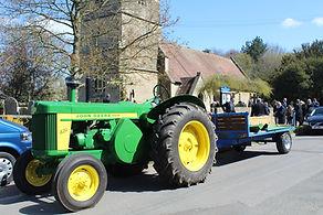 Tractor trailer funerals
