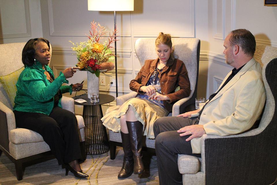 Dr, Daisy Interviews at Kingdomwood