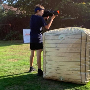 Hire Laser Tag Phasers for Scouts groups