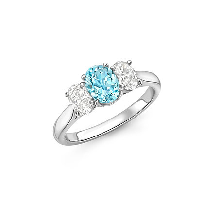Brazilian Paraiba Tourmaline Ring