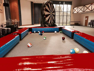 Birthday Party Ideas - Foot Darts Hire - Football Pool Hire