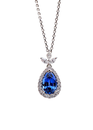 Sapphire Pendants