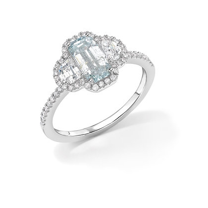 Coloured Diamond Ring