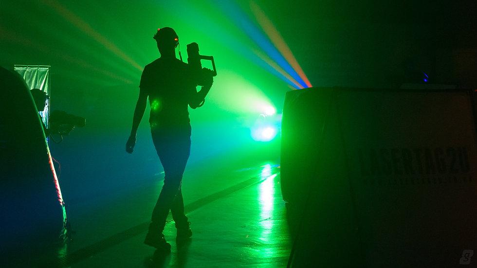 laser tag rental