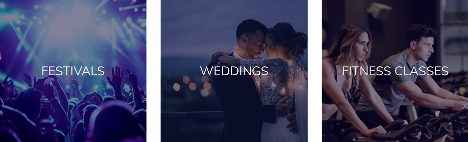Silent Disco wedding hire