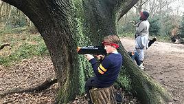 Woodland lasertag