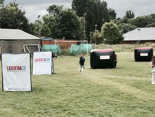 Watford Adventure Club Playing Laser Tag - Mobilelasertag - Hertfordshire
