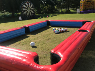 Team building event planners london Hertfordshire. Inflatable games for corporate events. Hire outdo