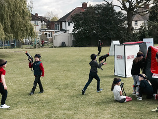 Lasertag hire in pinner / eastcote - School fundraising event