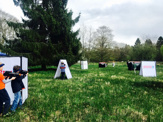 Laser tag in Reading