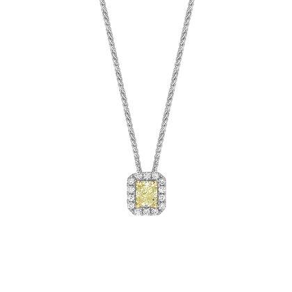 Coloured Diamond Pendant