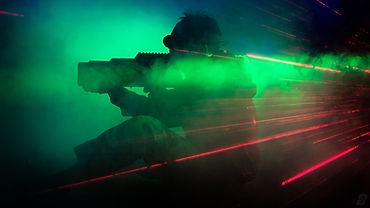 laser tag indoors