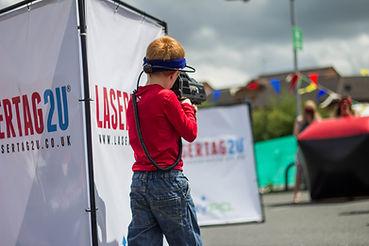 laser tag boy