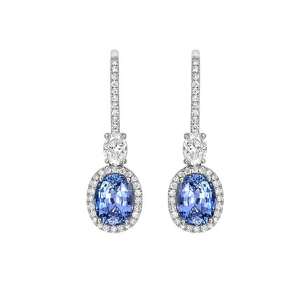 Sapphire Earrings