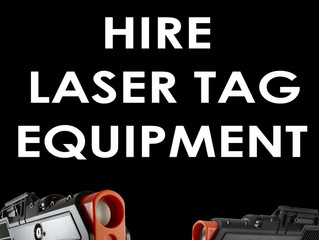 Nationwide LaserTag Equipment Hire - From Brighton to Scotland hire our Laser Tag gear!