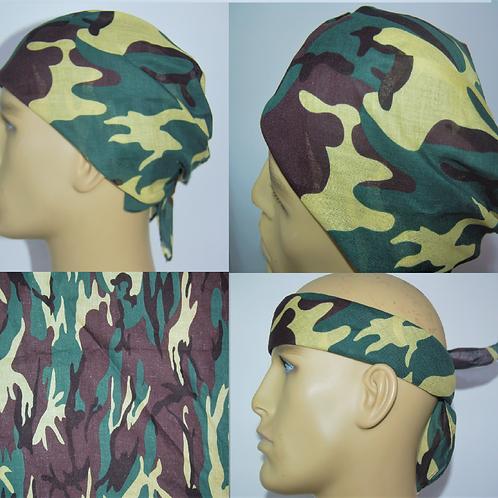 Camouflage Bandana Headband
