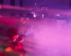 Smoke lasers