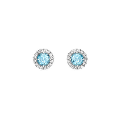 Brazilian Paraiba Tourmaline Earrings