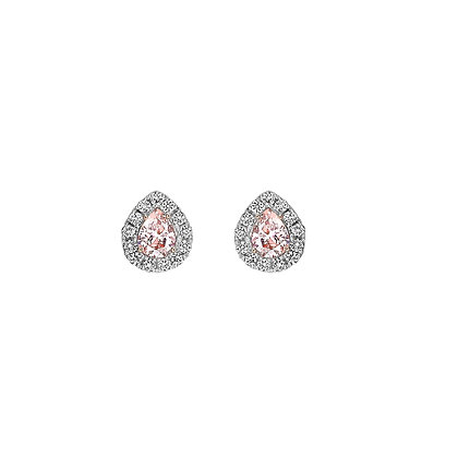 Coloured Diamond Earrings