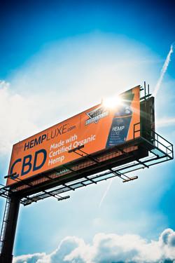 Hemp Luxe Billboard
