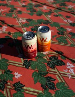 Wellers Sparkling CBD Water