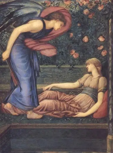 by E. Burne-Jones At Manchester Art Gallery