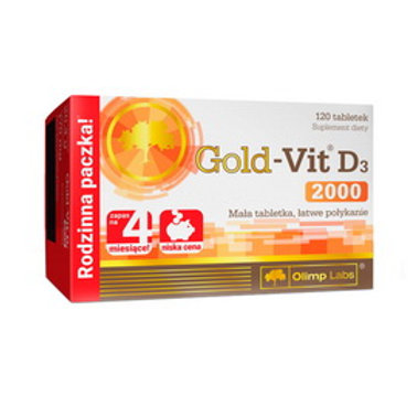 Gold-Vit D3 2000 (120 tabs)