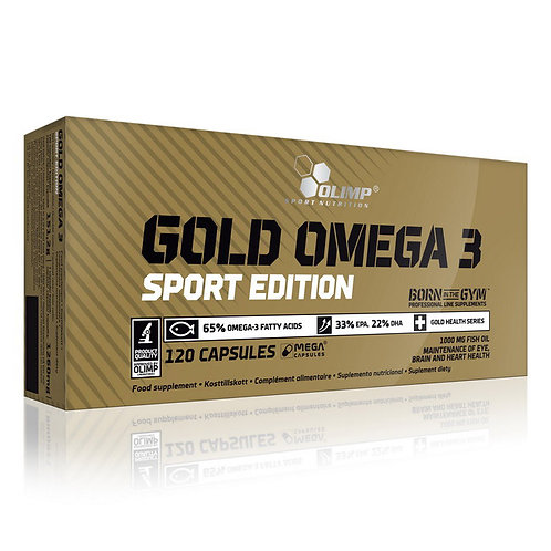 Gold Omega-3 SPORT (120 caps)
