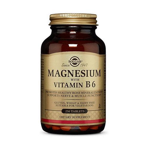 Magnesium with Vitamin B6 (250 tabs)