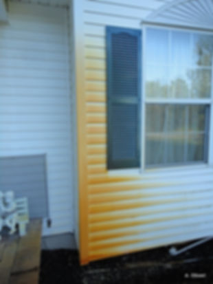 Rust removed from Siding, Cemment Suffolk County