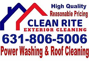 "alt=""Clean Rite Exterior Cleaning "">"