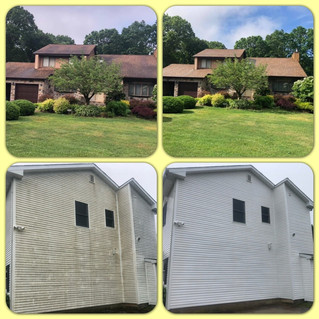 Soft Wash Roof Cleaning Plus Power Washing