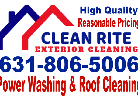 Power Washing, Roof Cleaning Area's