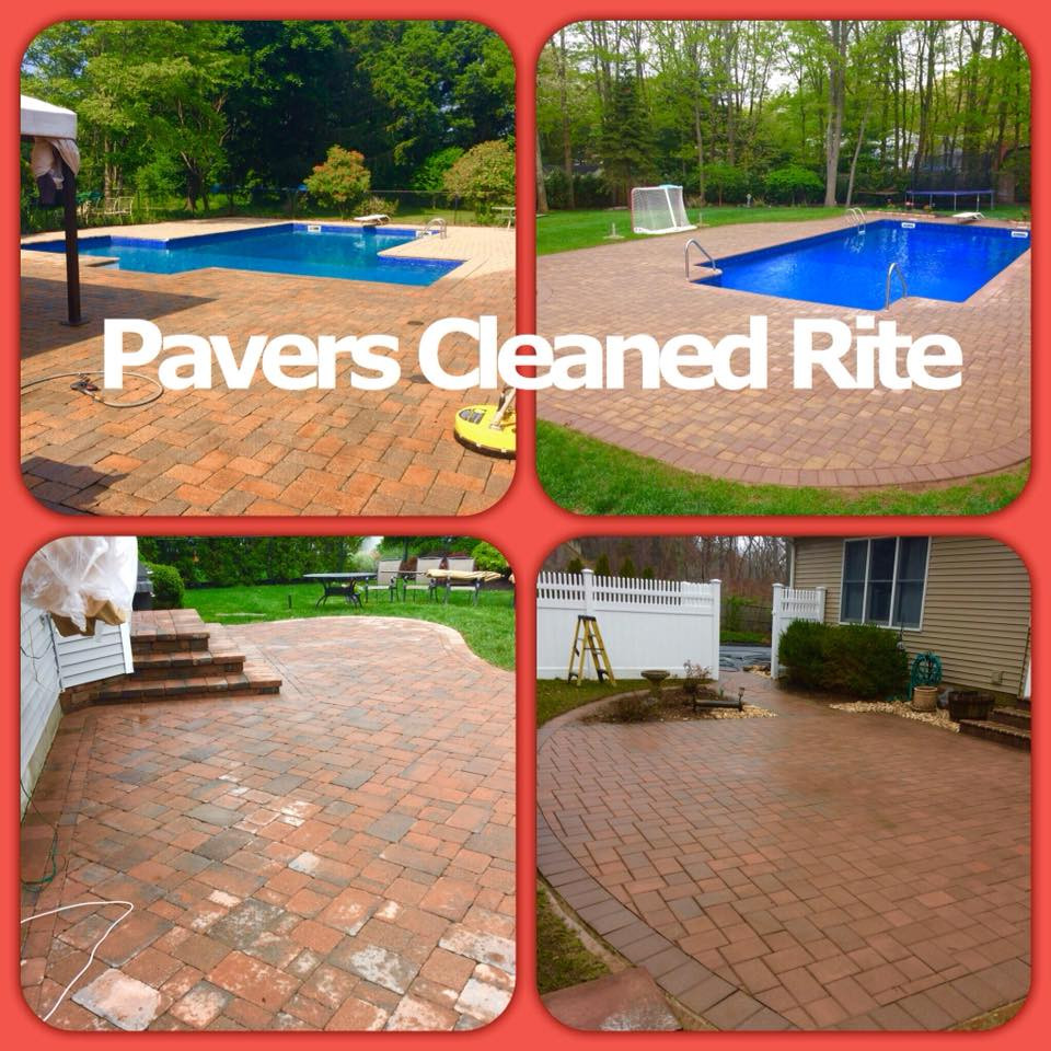 Pavers Cleaned Rite