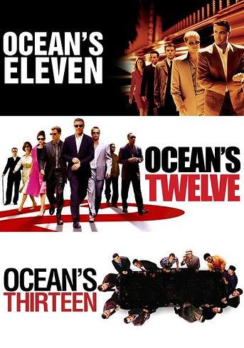 ocean 11-12-13 collection Blueray Dual A
