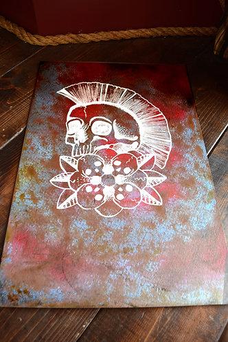 Punk Rock Skull