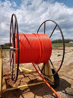 fiber conduit spool