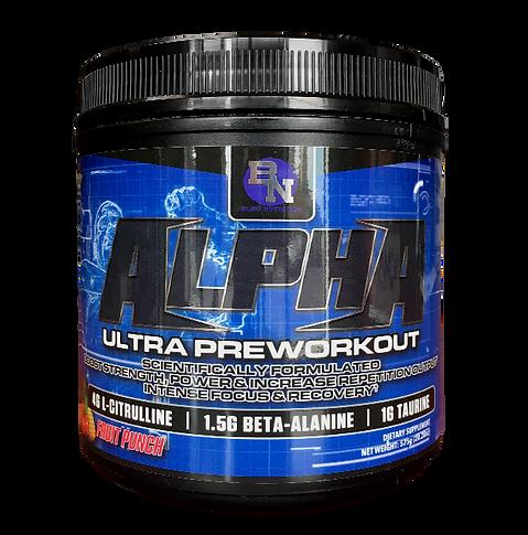 Alpha Ultra Preworkout