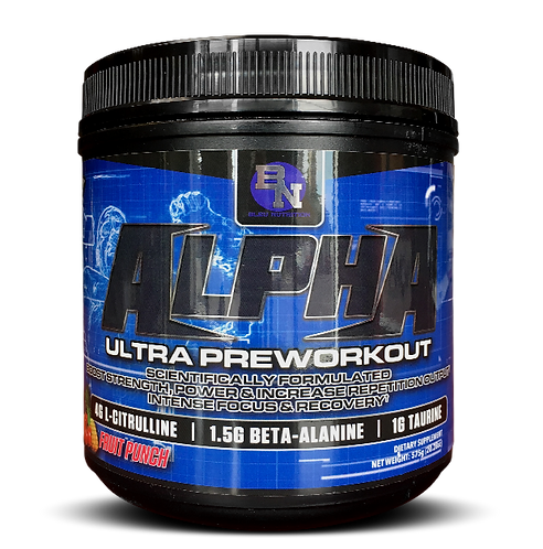 Alpha Ultra Preworkout
