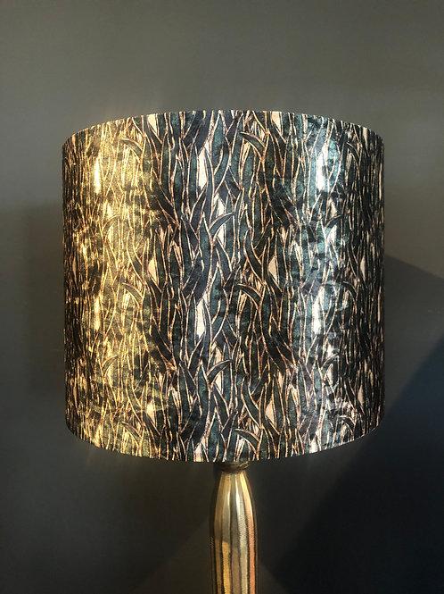Lampenkap groen/zwart/ivoor