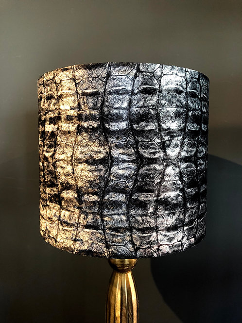 Lampenkap zwart/grijs