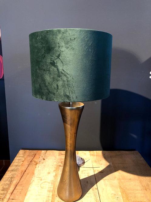 Set lamp velvet groen