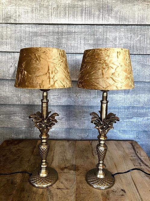 Set lamp pineapple
